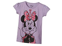 Minnie Mouse Tee - Lilac (5/6-7)