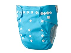 Adjustable Cloth Diaper - Turquoise