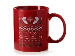 """Ugly Holiday Sweater 2008"" Ceramic Mug"