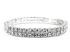 Swarovski Elements Crystal Stretch Bracelet