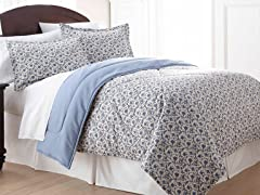 Micro Flannel® Comforter Set-Jacobean-3 Sizes