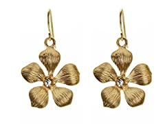 Relic RJ2299715 Gold Flower Earrings