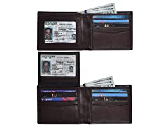 RFID TRV 26 Leather Wallets, Your Choice