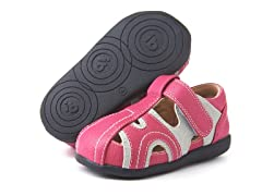Squeaky Shoe - Alex, Pink/Grey (6-8)