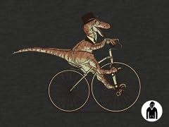 Villainous Victorian Velociraptor Hoodie