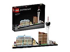 LEGO Architecture Las Vegas Skyline