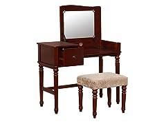 Linon Wyndham Vanity Set