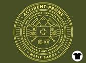 Accident-prone Merit Badge