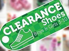 Shoe Clearance Boys & Girls 3-10