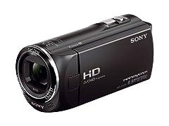 Sony 8.9MP HD Camcorder w/27x Zoom