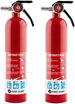 2-Pack First Alert 2-1/2 Lbs Rechargeable Household Fire Extinguisher