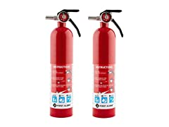 First Alert Standard Home Fire Extinguisher, 2Pk