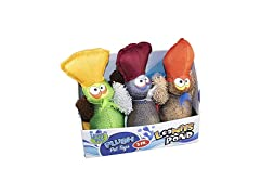 Happy Tails Loonies Pond Plush Toys