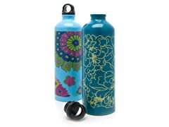 Gaiam Random Aluminum Bottle 2pk