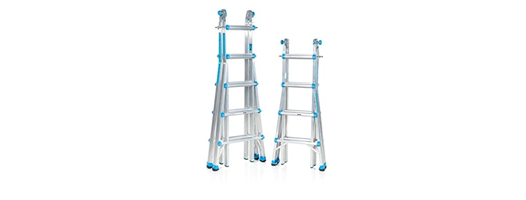 Workman 17 or 22 Foot Multi-Configuration Ladder