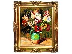 Renoir - Tulips in a Vase: 20X24