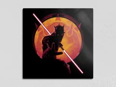 """""""Darksiders: Red Sith"""" 12"""" x 12"""" Metal Poster"""
