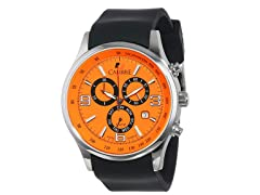 Calibre: Mauler Men's Orange Watch