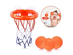 Fun Basketball Hoop and Balls Playset