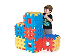 Little Tikes 18-Piece Big Waffle Block Set