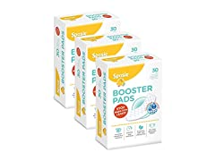 Sposie Booster Pads Diaper Doubler, 90 Count