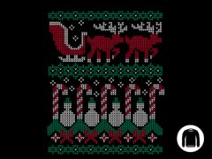 Ugly Holiday Sweater 2010 Crewneck Sweatshirt