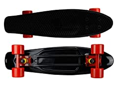 Mayhem Black Deck with Red Wheels