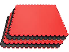 Reversible Interlocking Karate Mats