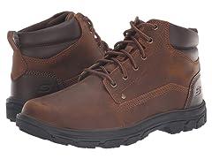 Skechers Mens Segment Garnet Hiking Boot