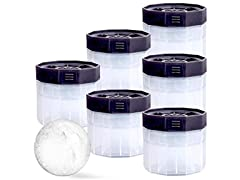 Ice Ball Molds, BPA Free 2.5 Inch Ice Spheres, 6-Pack