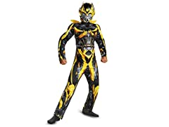 Bumblebee Muscle Costume (Kids 4-12)