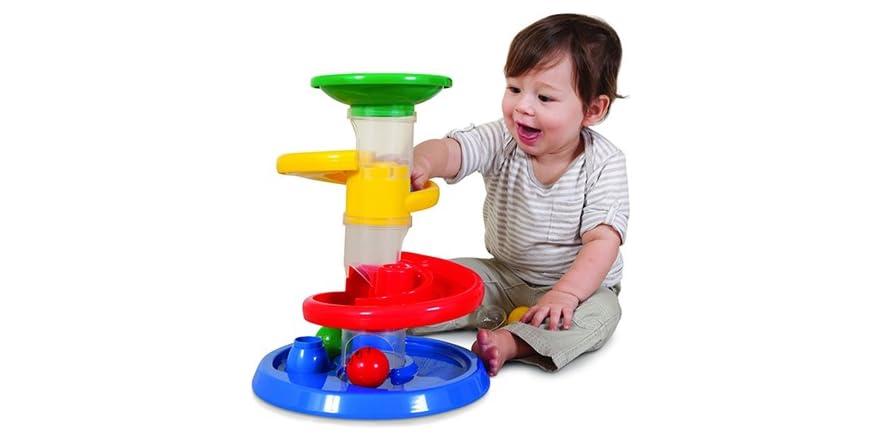 Ball Drop Toy : Edushape rollipop ball drop set kids toys