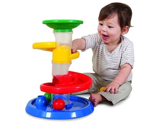 Ball Drop Toy : Rollipop ball drop set kids toys