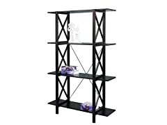 Anna Double Bookcase