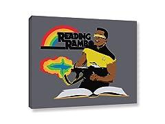 Reading Rambo (4 Sizes)