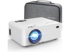 DBPOWER Mini Portable Video Projector