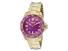 Women's Pro Diver Watch, Purple