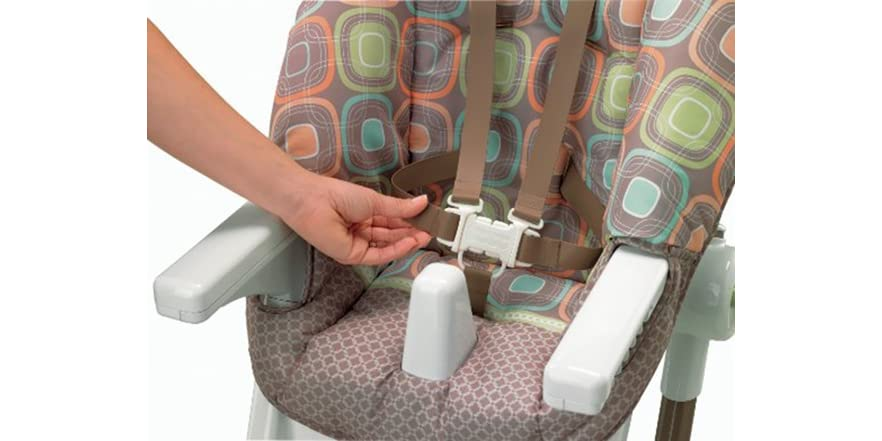 how to fold fisher price ez clean high chair