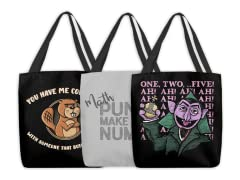 Editor's Choice: Funny Tote Bags!