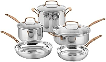 Cuisinart C7M-8RG 8-Piece Cookware Set (Stainless Rose Gold)