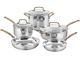 Cuisinart 8-PC SS Rose Gold Cookware Set