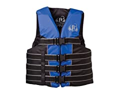 Adult Nylon Water Sports Vest - Blue