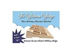 The Wellness Wedge Mattress Elevation