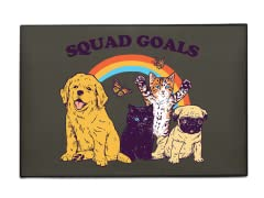 """Squad Goals"" Indoor/Outdoor Mat"
