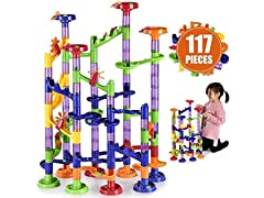 Large Marble Run Toy Set (117-Piece Set)