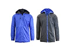 Men's Reversible Windbreaker Jacket
