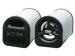 """8"""" 250 Watt Amplified Subwoofer Tube"""