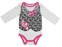 Zebra Vest (0-9M)
