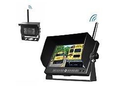 Wireless Weatherproof Backup Camera & Monitor System