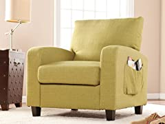 Kellyton Arm Chair - Apple Green